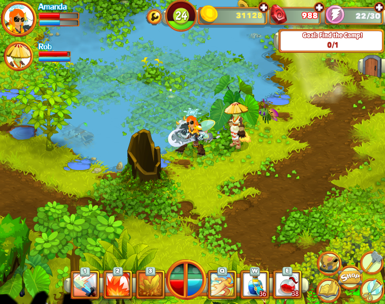 Point-and-click role-playing title Cloudstone now available to play on Facebook