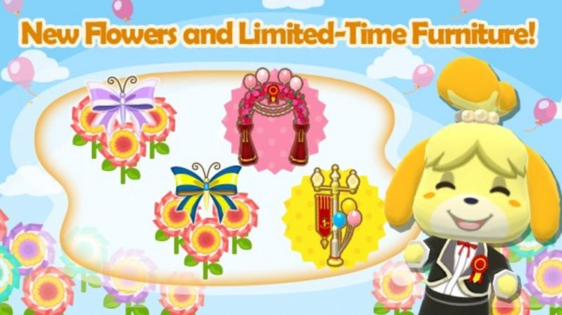 Animal Crossing: Pocket Camp's party prep has entered its second phase