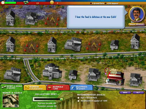 Build-a-Lot 2: Town of the Year out for iPad in New Zealand