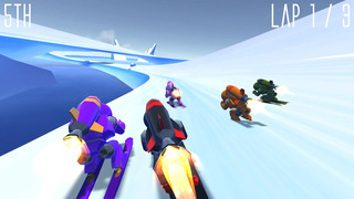 Rocket Ski Racing is the new rocket-powered arcade game from No Can Win