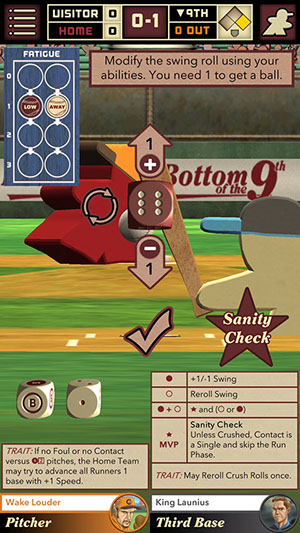 Bottom of the 9th is a baseball-based board game coming to iPhone and Android next week