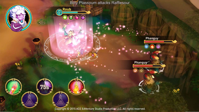 ChemCaper is a Kickstarted RPG that wants to teach you chemistry, out now on iOS and Android