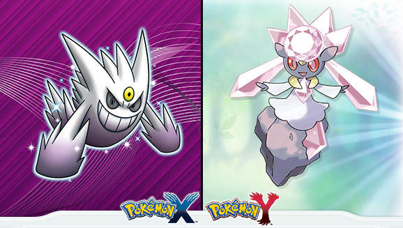 Here's how Pokemon X and Y owners can get Shiny Gengar and Mythical Pokemon Diancie for free