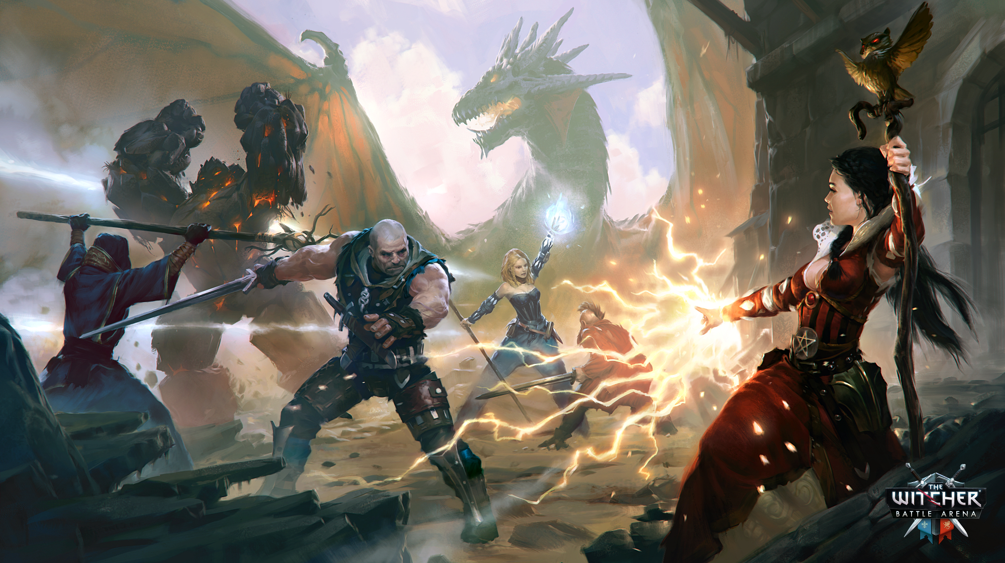 The Witcher Battle Arena is a free-to-play MOBA for iOS, Android