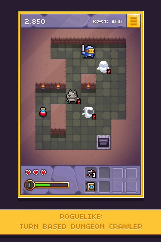 Tiny Rogue is a new fantasy roguelike from Ravenous Games