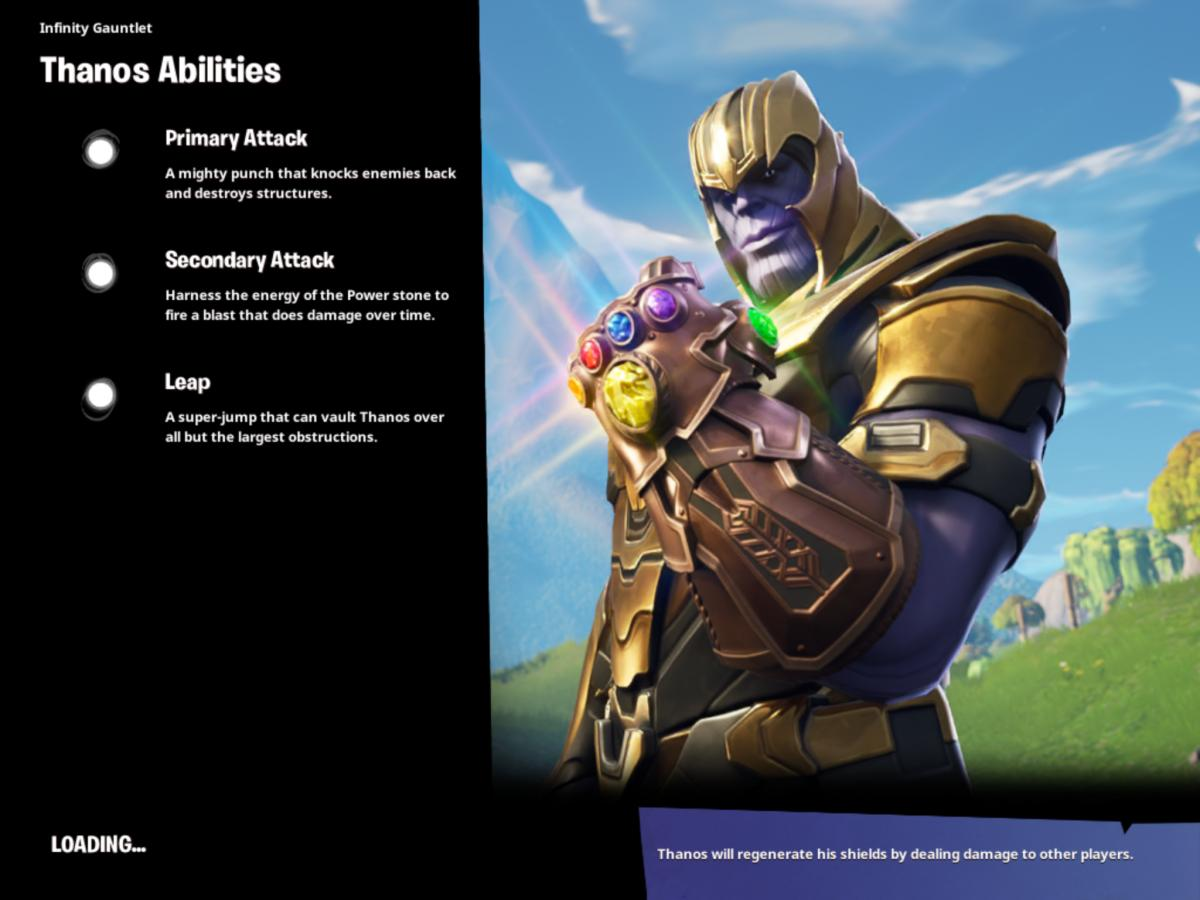 Fortnite cheats and tips - Everything you need to win as Thanos in Infinity Gauntlet