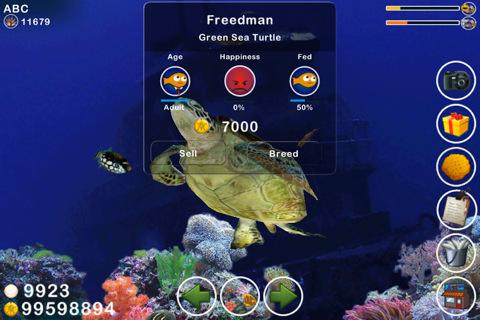 Free iPhone game: Tap Reef