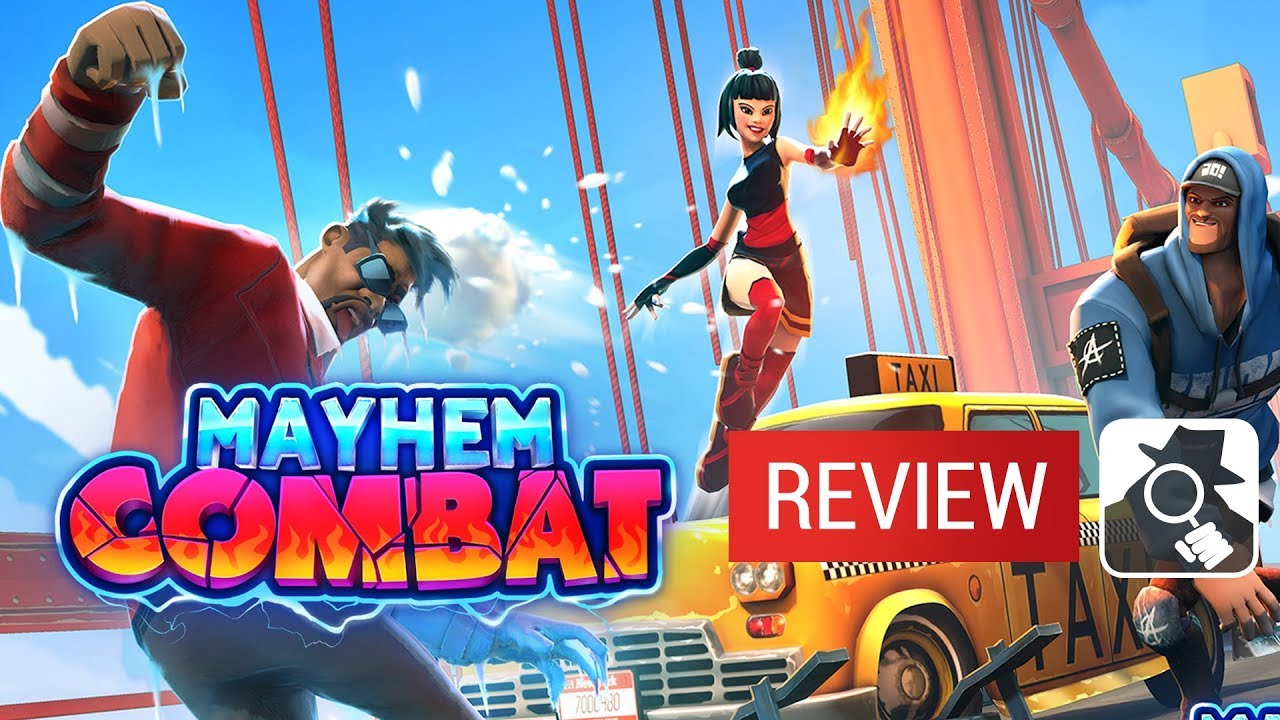 Mayhem Combat video review