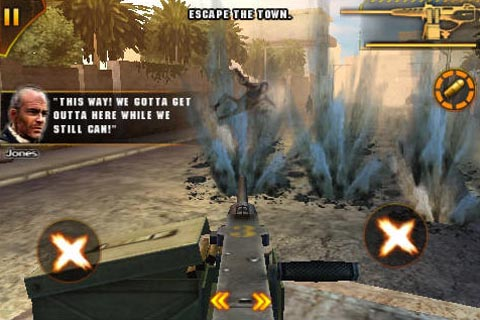New multiplayer update for Modern Combat: Sandstorm on the iPhone