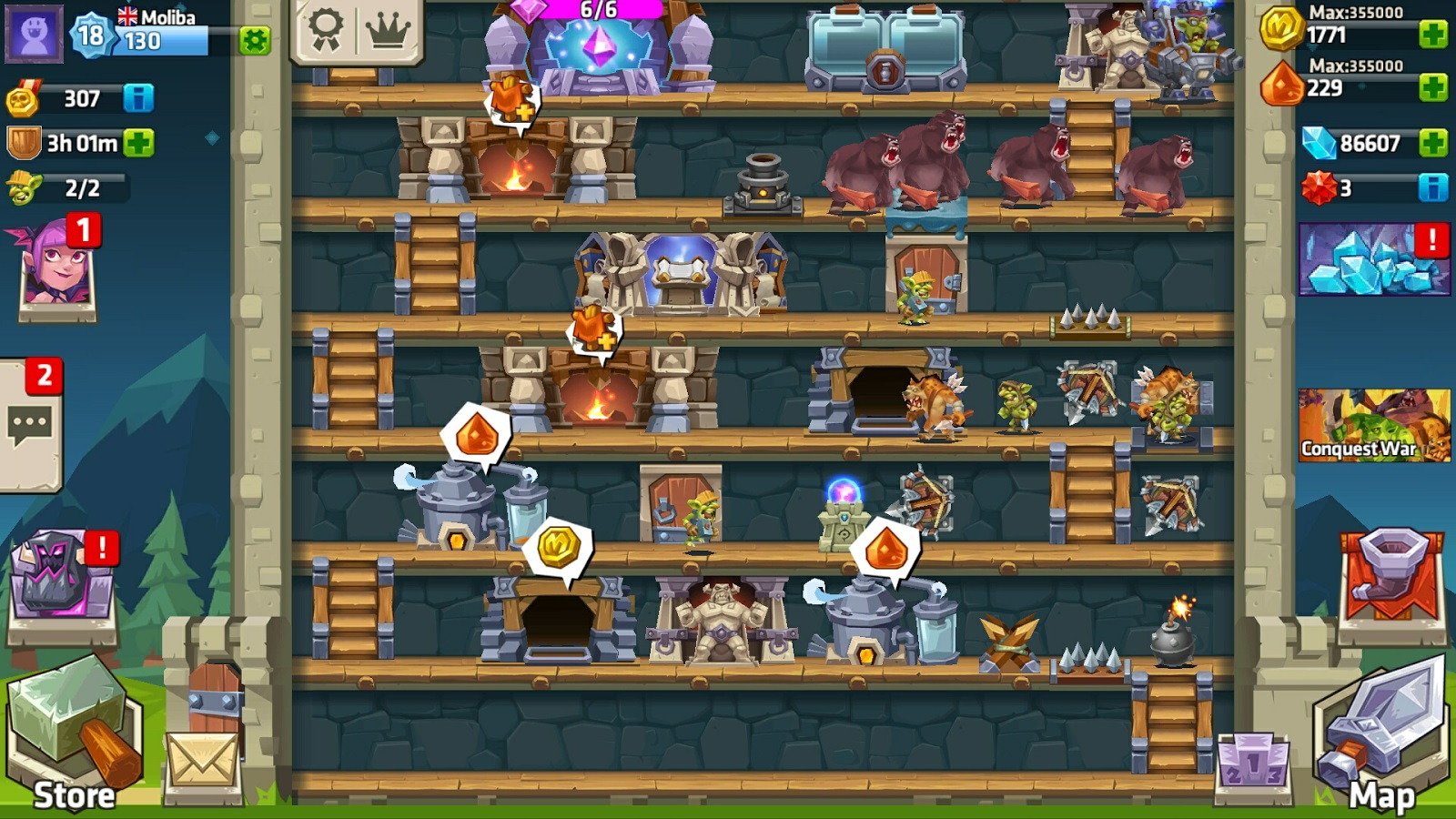Monster Castle blends strategy, development, and tower defence on iOS and Android [Sponsored]