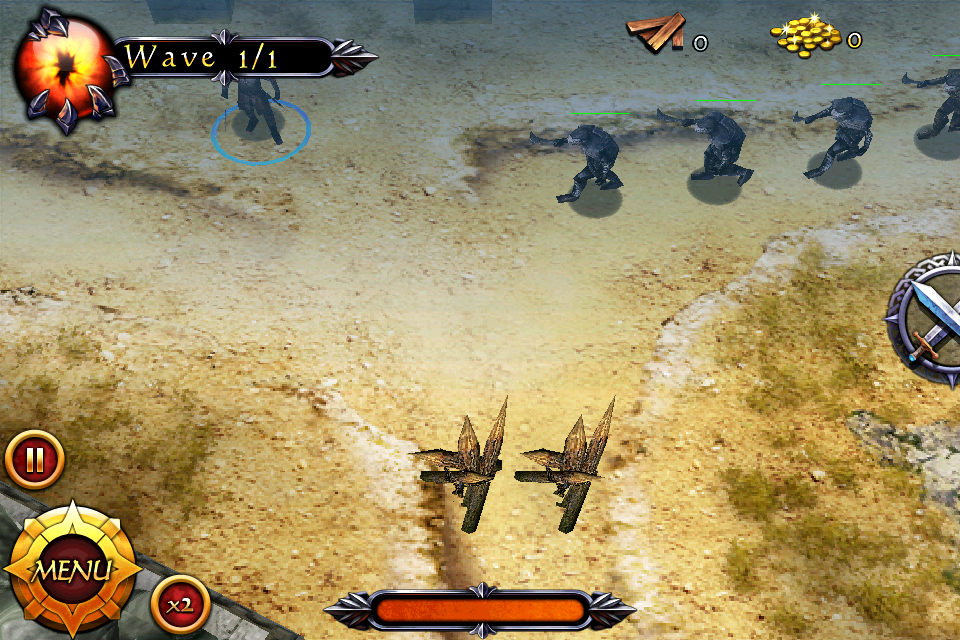 Lord of the Rings: Middle Earth Defense for iPhone and iPad down to £2.99/$4.99