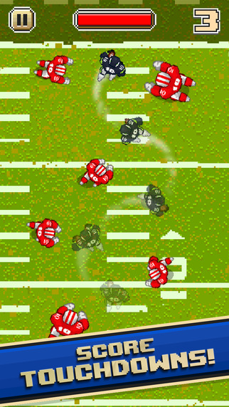 Kick off the NFL season with the improved sequel to Touchdown Hero, out on iOS