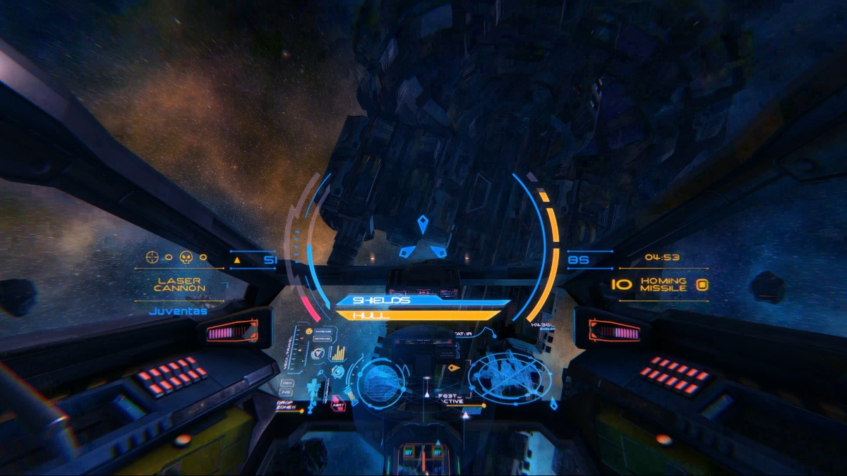 Multiplayer space shooter Vanguard: Fight For Rudiarius flying to mobile and VR in a not too distant future