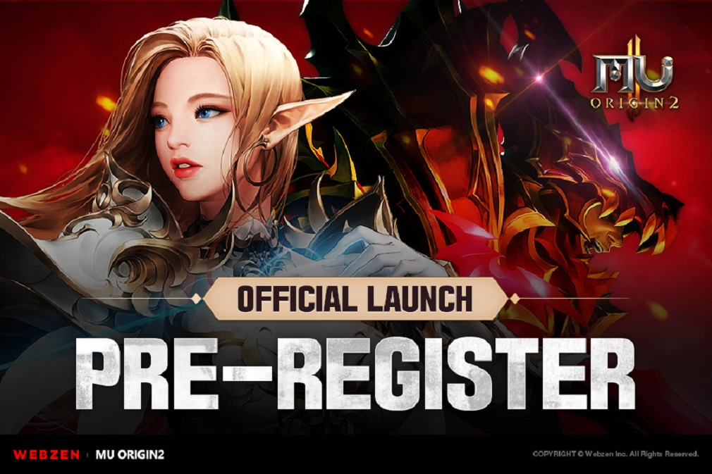 Pre-registration opens for Webzen's MU Origin 2