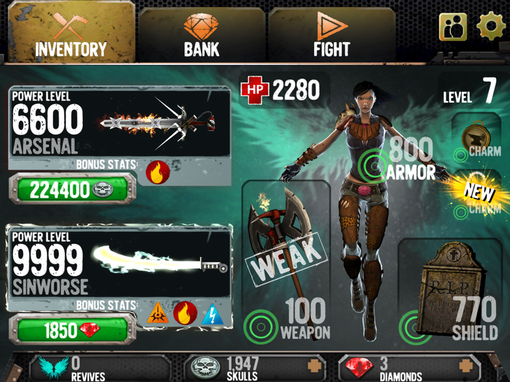 Death Dome Android, screenshot 2