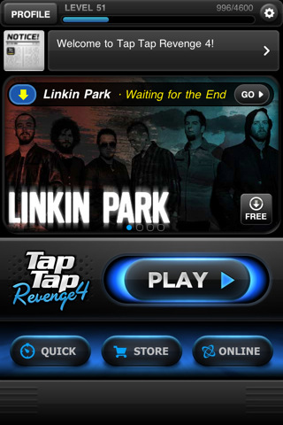 Freemium rhythm game Tap Tap Revenge 4 hits iPhone, Tapulous puts Katy Perry, Metallica, Bieber and more on sale
