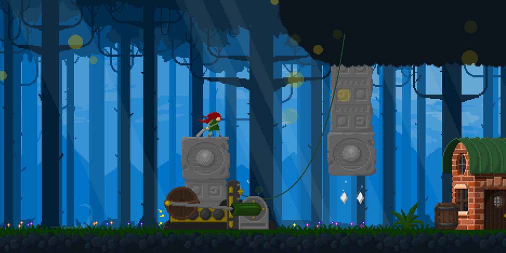 Succeed by claiming the powers of the fallen in platformer Mable and the Wood