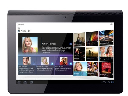 Sony Tablet P and Sony Tablet S getting a bite of Android Ice Cream Sandwich next month