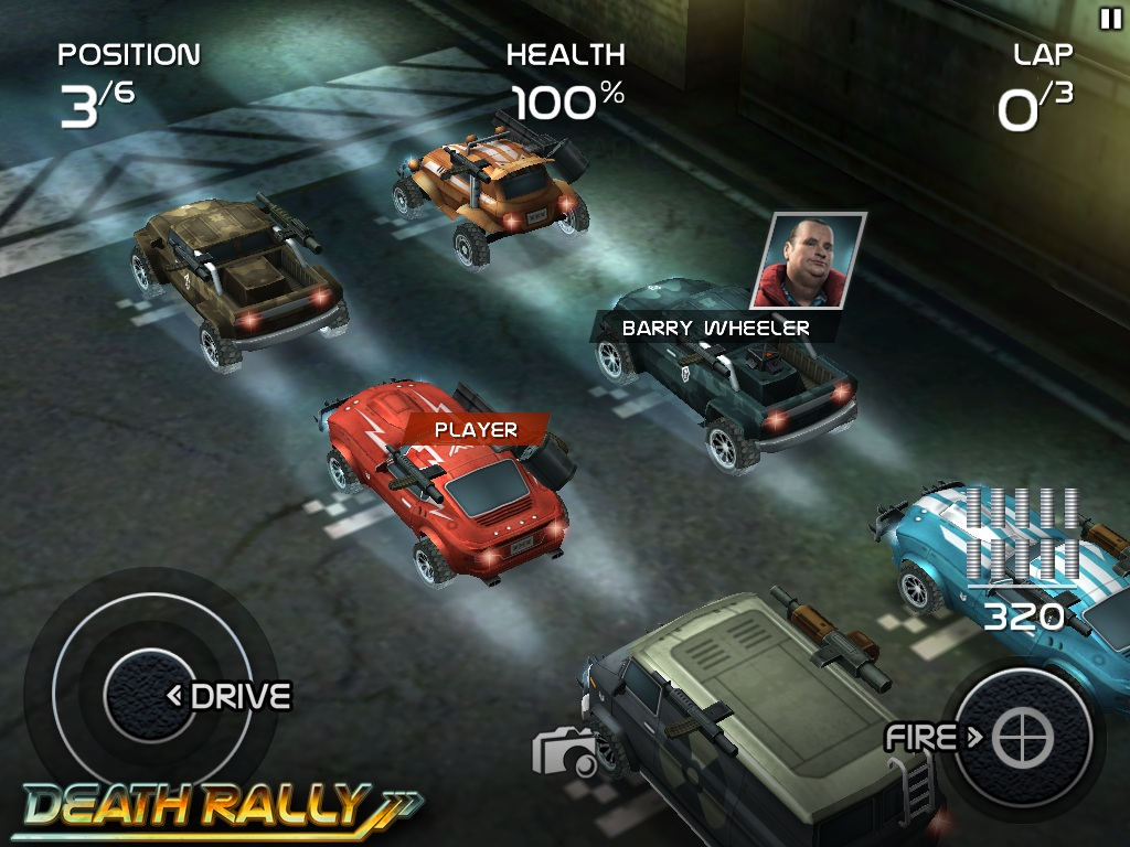 Top-down racer Death Rally hits iPhone and iPad March 31