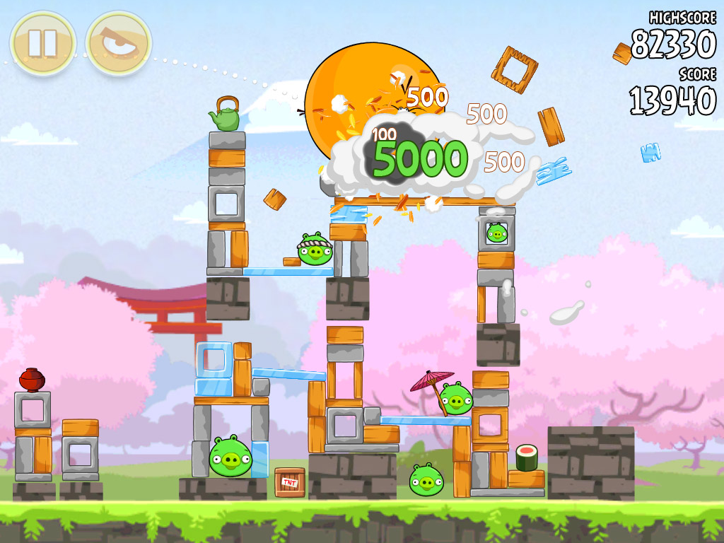 Angry Birds Seasons for iOS and Android to receive hanami-themed 'Cherry Blossom' update this week