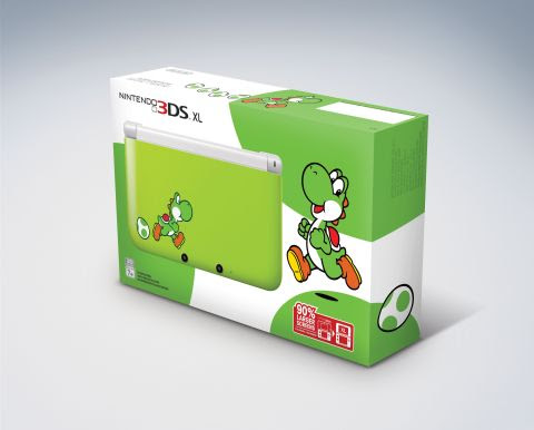 Nintendo of America confirms Yoshi 3DS XL for stateside release