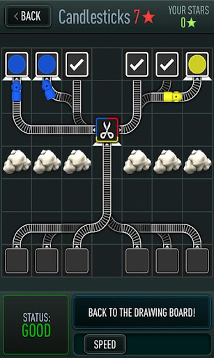 Puzzler Trainyard pulls up to the Android platform as part of Noodlecake's 'Game A Week Project'