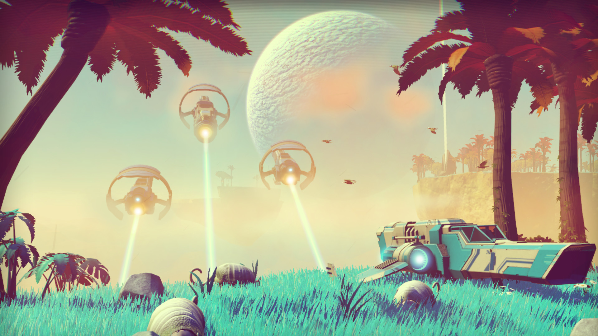 Anticipated space exploration game No Man's Sky lands on Steam