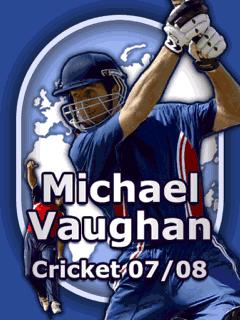 Michael Vaughan Cricket 07/08