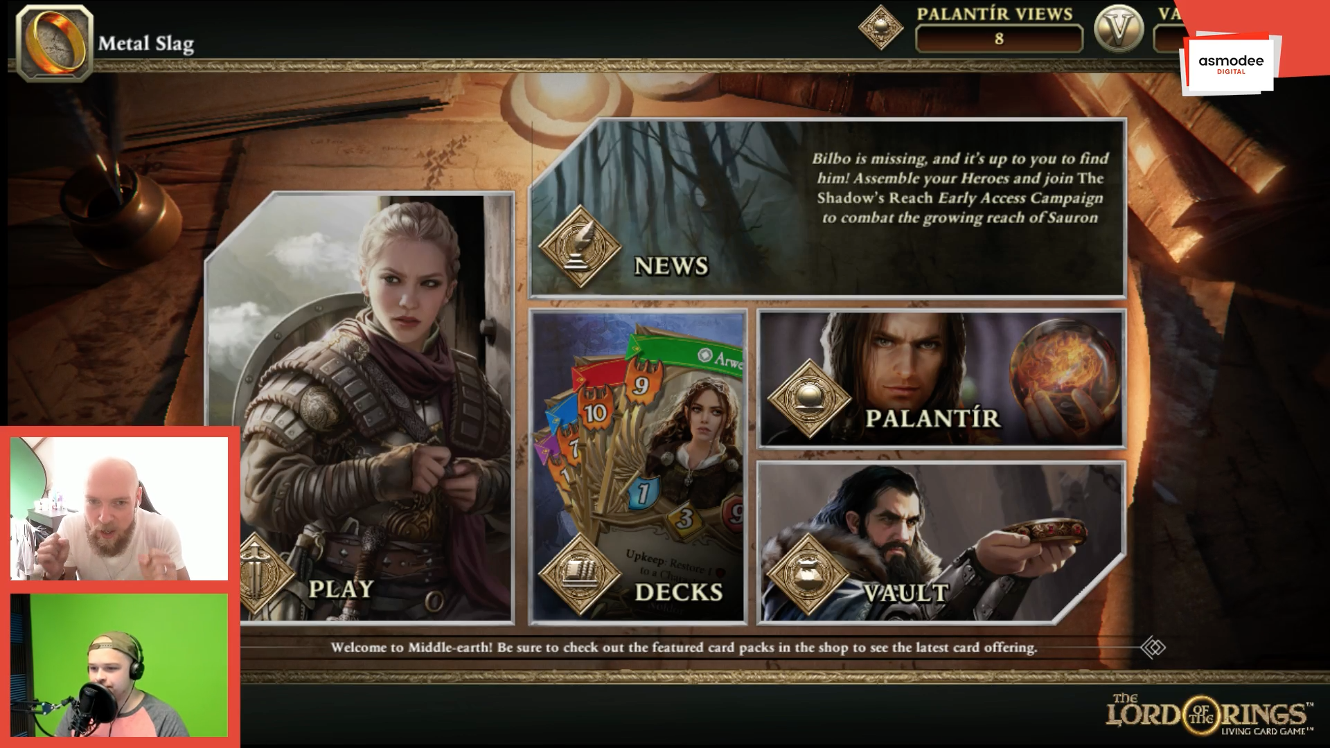 Missed our The Lord of the Rings: Living Card Game stream? Catch up on the whole thing here