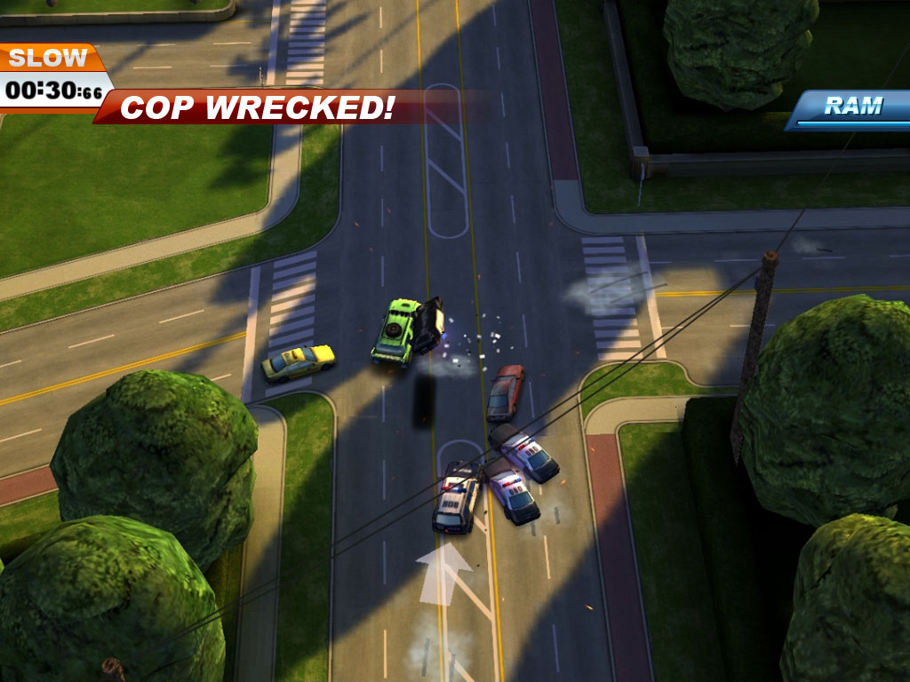 Smash Cops bringing 'wildest TV police chases' action to iPhone and iPad in January