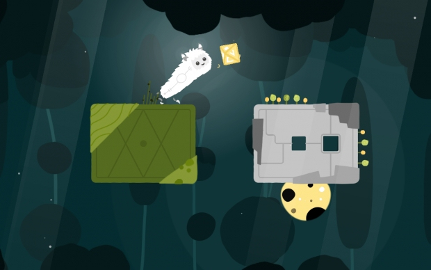 Become a weird fluffy creature in gorgeous one button platformer illi, out now