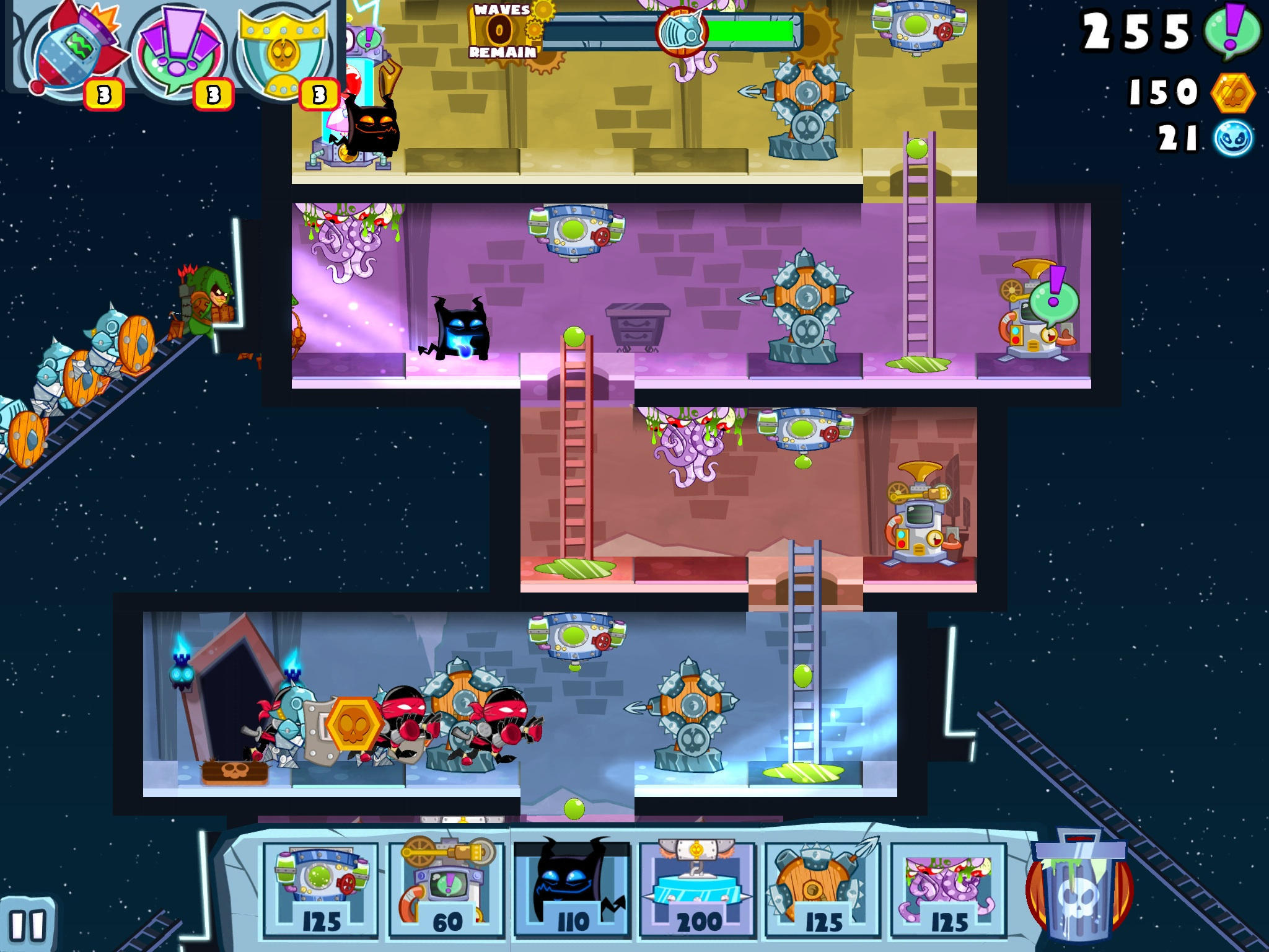 Castle Doombad celebrates Memorial Day by dropping down to 99c / 69p on iOS and Android
