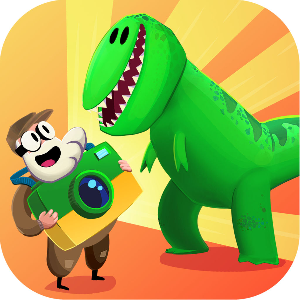 Jurassic GO - Dinosaur Snap Adventure icon