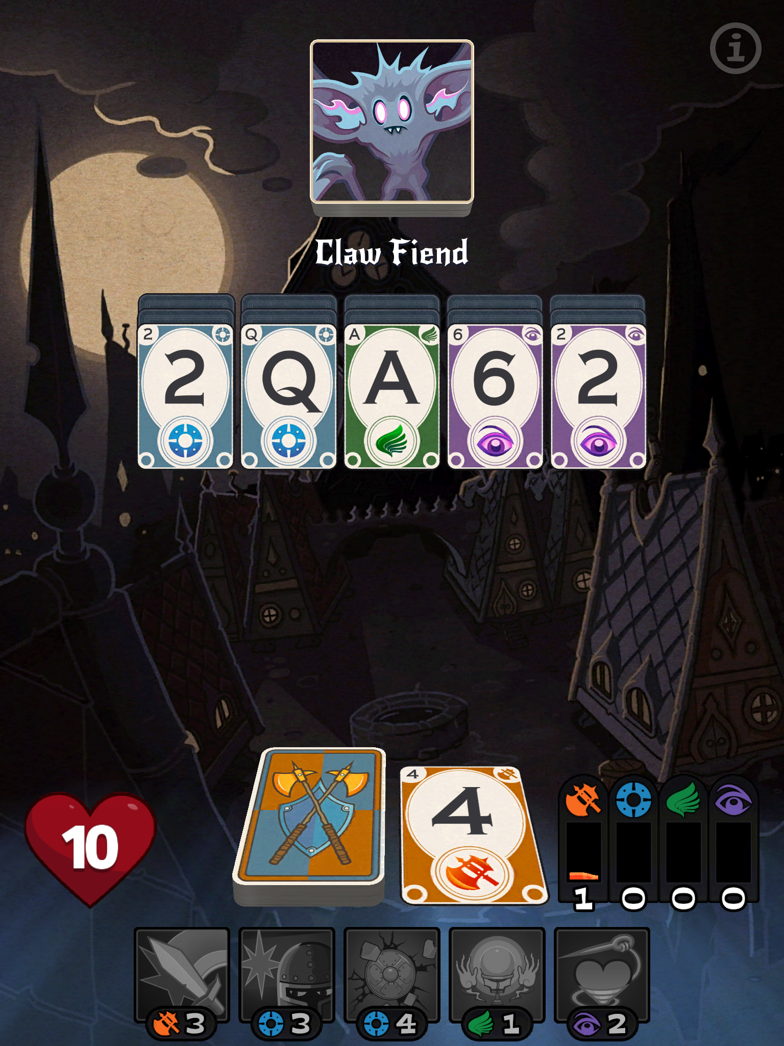 Solitairica review - A Patience-based card playing roguelike