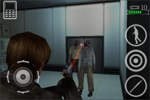 Resident Evil Degeneration Sneaks Up On The Iphone Articles