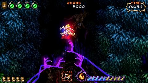 Ultimate Ghost 'n Goblins trailer materialises on PSP