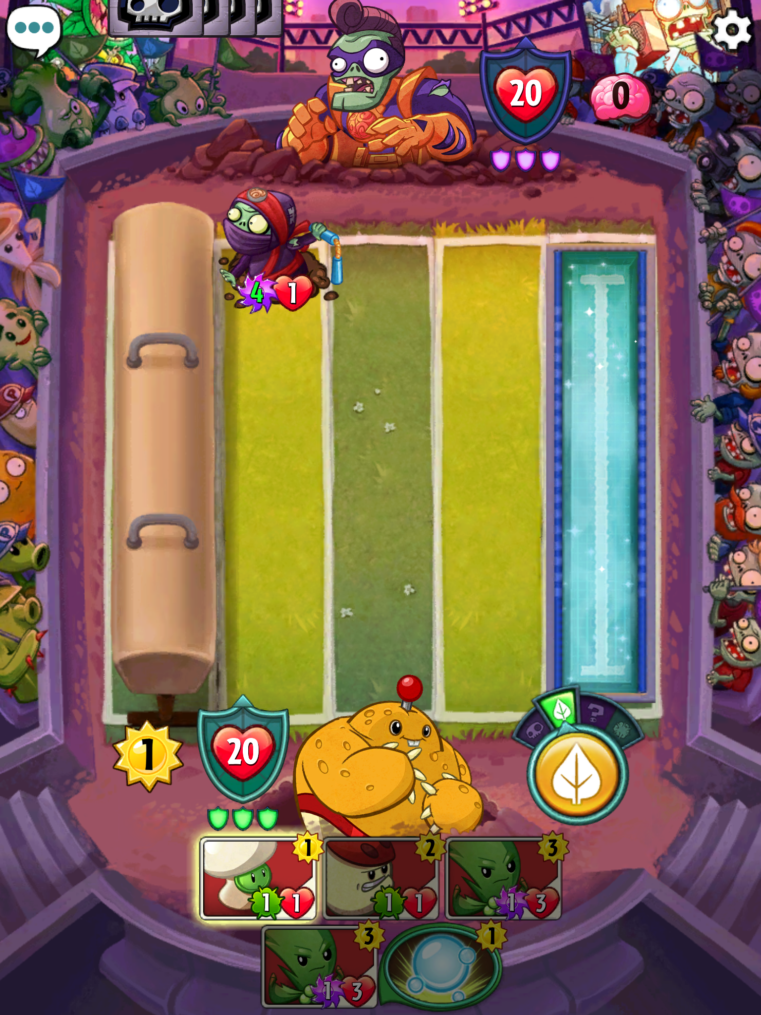 Plants vs Zombies: Heroes review - Is it as good as Clash Royale