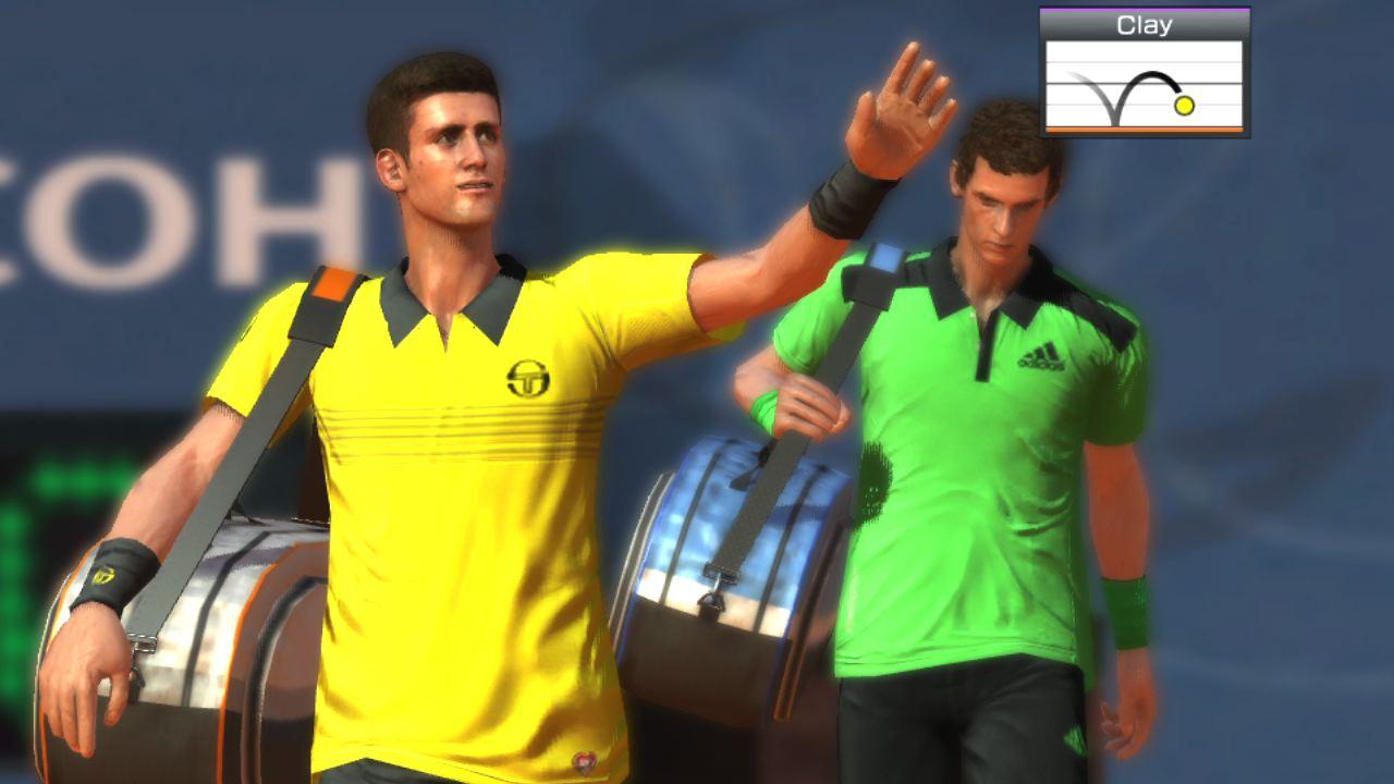 Power Smash 4 (Virtua Tennis 4: World Tour Edition)