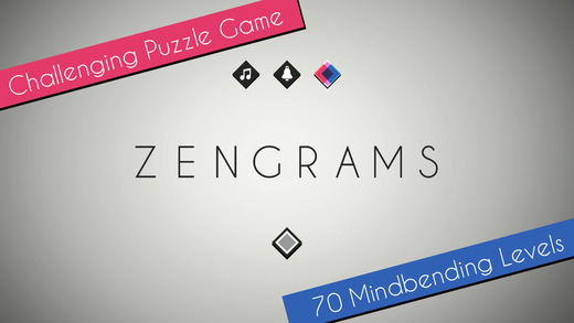 Abstract puzzler Zengrams is on sale now for 69p / 99c