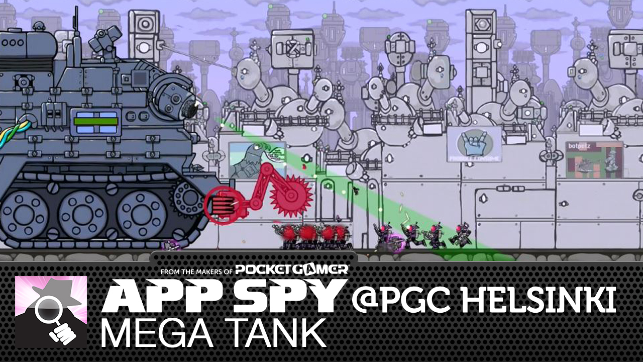 #PGCHelsinki: Mega Tank has you commanding a gigantic trundling death machine