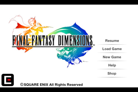 Final Fantasy Dimensions coming to iPhone and iPad tomorrow