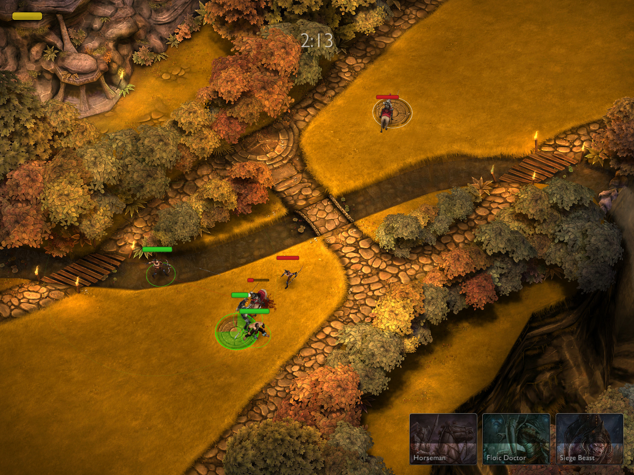 Ember Conflict - a mobile RTS that just about sizzles