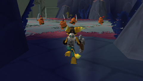 PSP Ratchet & Clank offers four-way multiplayer mode