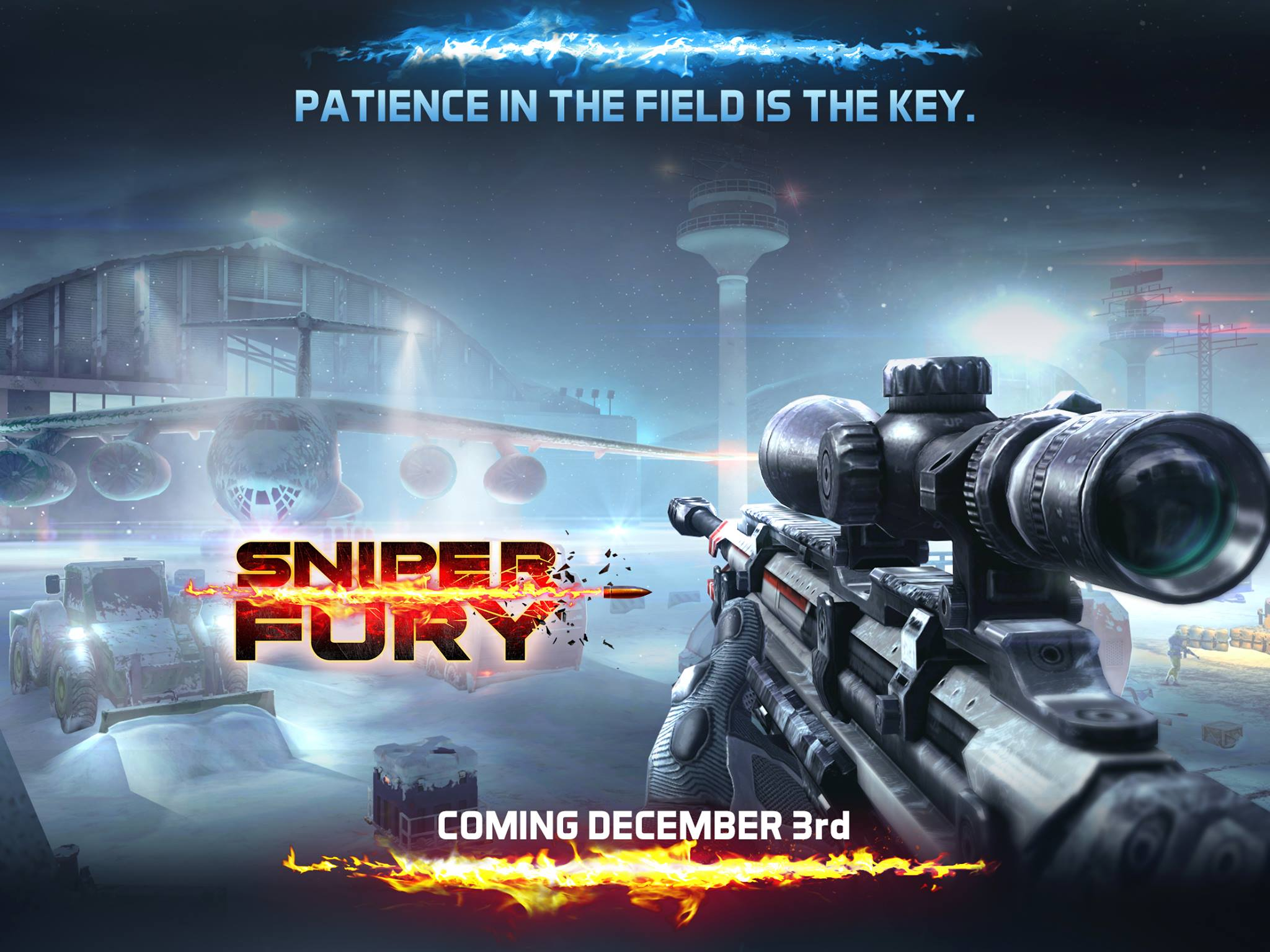 Sniper Fury is no longer coming out this week - delayed until December 3rd