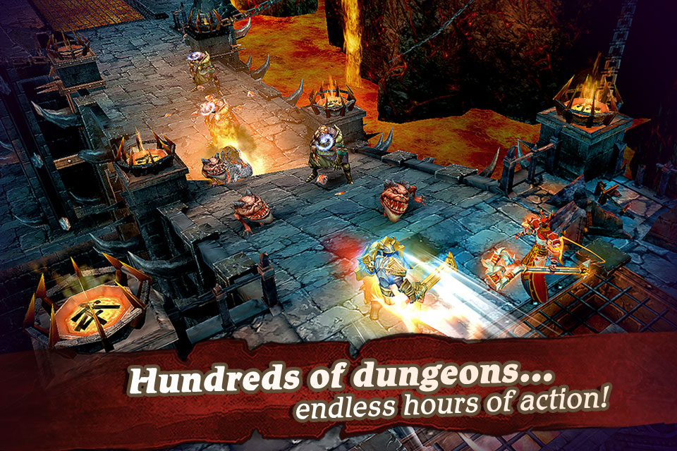 Clash for Dawn is an action-packed RPG on your mobile