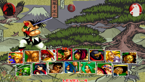Out at midnight: Unleash a Weapon Smash Attack or 2 in iOS port of Neo Geo classic Samurai Shodown II