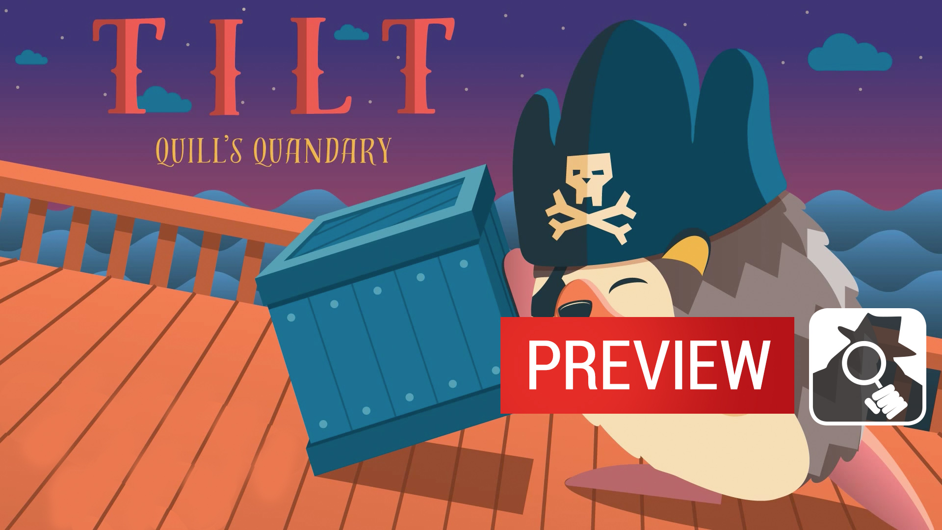 Tilt: Quill's Quandary gameplay preview
