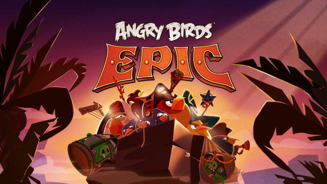 Rovio announces Angry Birds Epic, a... turn-based RPG?
