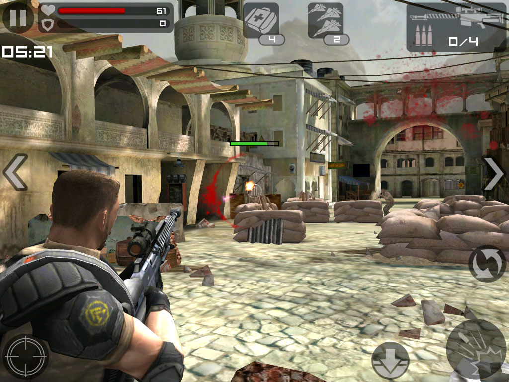 Glu shoots up freemium market with Frontline Commando for iOS and Android