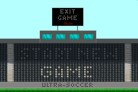 Free iPhone game: UltraSoccer